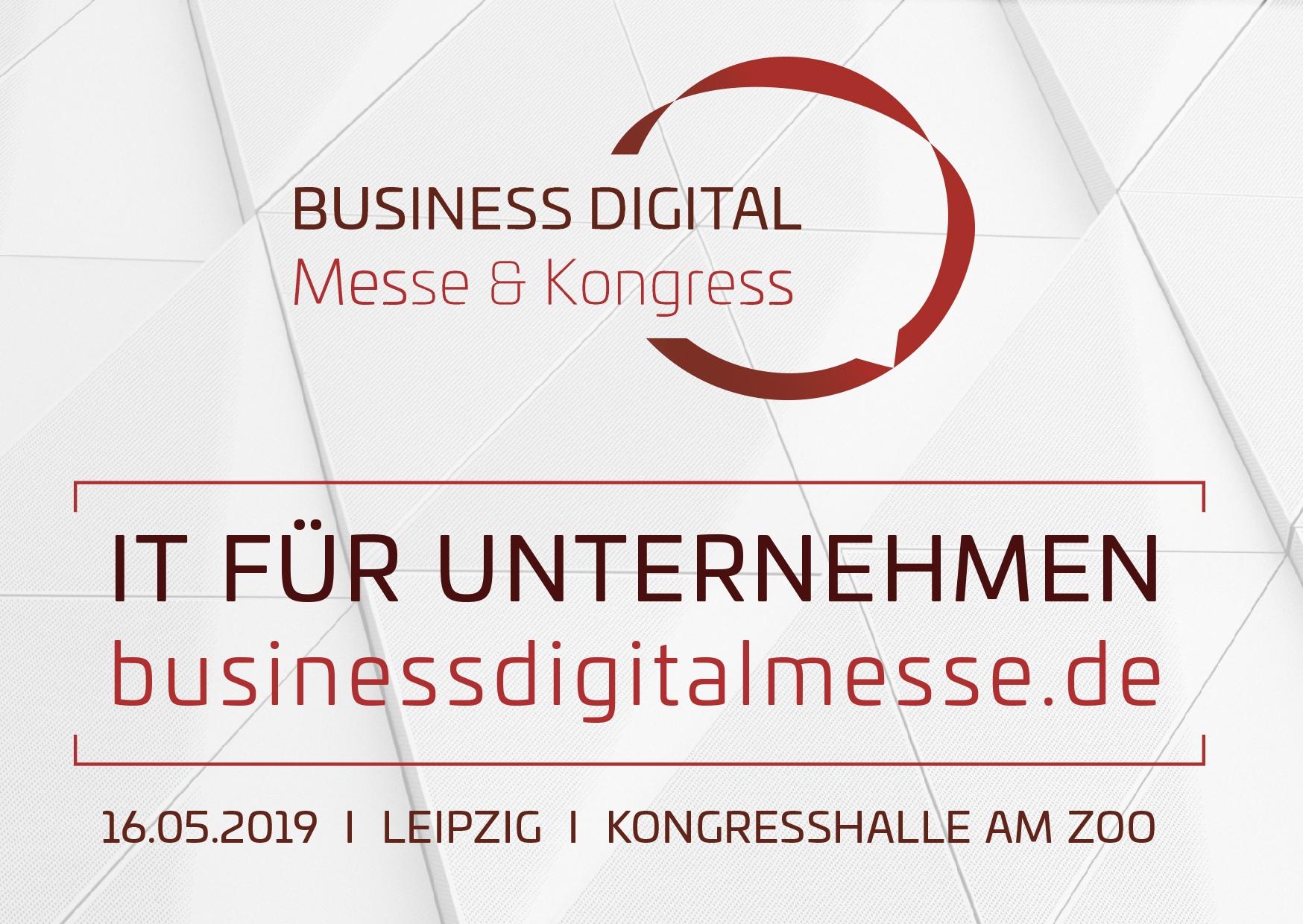 Fachmesse Digitalisierung Business Digital 2019
