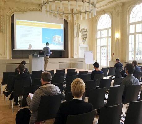 bellmatec hat den Vortrag von Tim Poluzyn, IT-Projektleiter der Messe Düsseldorf, über Digitalisierung vermittelt